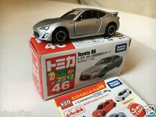 TOMY TOMICA NO 46 TOYOTA 86 (1ST LIMITED EDITION) 1/60 DIECAST TOY CAR, F/S