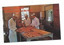 Vintage Postcard Amana Colonies Bratwurst Capital of the World Meat Shop Iowa