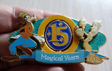 GROS PIN'S DLRP DISNEYLAND RESORT PARIS 15 ANS DINGO GOOFFY J - 20 EL 900 EX