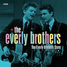 THE EVERLY BROTHERS - THE EVERLY BROTHERS STORY 4 CD NEU