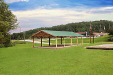 Steel truss pole barn, Standing roof kit  50x100x12