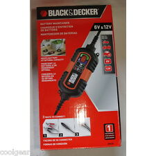 NEW Black and Decker Battery Maintainer Charger 6V and 12V Batteries BM3B