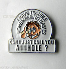 ADULT HUMOR NOVELTY CAN I CALL YOU FUNNY RUDE LAPEL PIN BADGE 1 INCH