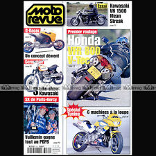 MOTO REVUE N°3496 KAWASAKI VN 1500 MEAN STREAK HONDA VFR 800 JEREMY McGRATH 2001