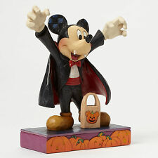 Jim Shore Vampire Mickey Mouse Disney Traditions 4046027 Halloween Count Mickey