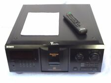 Sony CDP-CX355 Three Hundred 300 Disc CD Compact Auto Changer + Remote & Manual