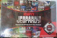 ESPN Jeopardy Ultimate Sports Quiz Game W/ Buzzer/Timer New Sealed Box - 2008