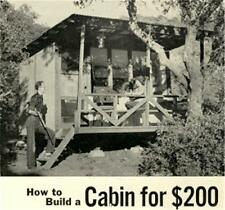 Build Low Price Vacation Cabin Article Plans How To Fishing Camping Low Cost #62