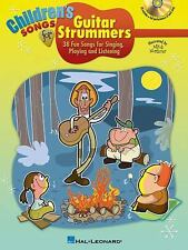 CHILDREN'S SONGS FOR GUITAR STRUMMERS BOOK/CD