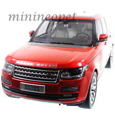 WELLY 11006 GT AUTOS LAND ROVER RANGE ROVER SUV 1/18 DIECAST MODEL CAR RED