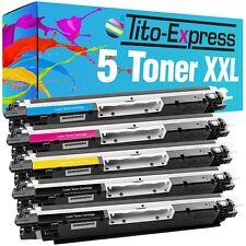5 Toner für HP Laserjet Pro CP1025 NW Pro 100 Color MFP M175A M175NW CE310A-313A