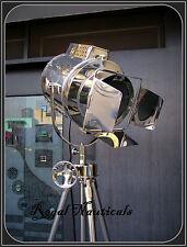 Theater Nautical Spotlight Home Decorative Floor Lamp Tripod Search light lamp