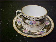 Ancienne Manufacture Royale Limoges Cambrai Cup & Saucer
