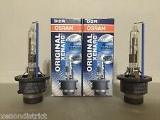 2X NEW 2PC OEM OSRAM XENARC D2R 66250 66050 ORIGINAL 6000K HID XENON LIGHT BULBS