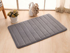 Soft Absorbent Memory Foam Bathroom Carpets Bath Mats Non-slip Rug Mats 4 Size