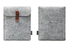 T New Grey Wool Felt Envelope Case Cover Bag Sleeve Pouch for Ipad Mini 1 2 3
