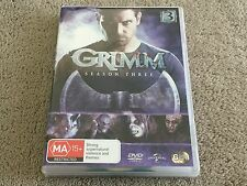 GRIMM *  SEASON 3 * 6 DISC SET *  DVD * R4 *  FREE POSTAGE