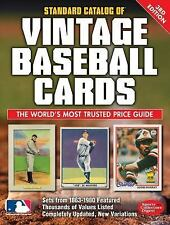 Standard Catalog of Vintage Baseball Cards / 250,000 Values * 3rd edition