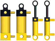 4 Lego Pneumatic Cylinders Kit (technic,mini,switch,air,tank,t,hose,tubing,pump)