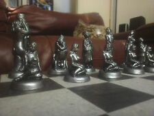 Large Mature Erotic Adult Chess Set - Antique Bronze and Aged Pewter Effect