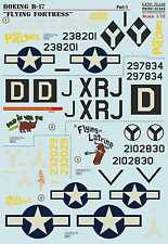 Print Scale 1/72 Boeing B-17G Flying Fortress Nose Art for '2nd Patches' - 'Mud