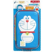 Nintendo 3DS LL XL Doraemon Hard Pouch Case Japan F/S