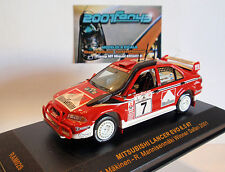 MITSUBISHI LANCER EVO 6.5 #7 MAKINEN WINNER RALLY SAFARI 2001 1/43 IXO RAM029