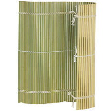 """Japanese 10.6"""" (27cm) Square Professional Bamboo Sushi Rolling Mat Made in Japan"""