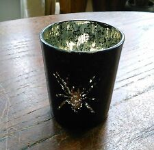 Spider Tea Light Candle Holder - Witch Altar Spooky Goth Gothic Witchcraft