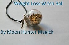 Weight Loss Spell Witch Ball Pagan Wicca Charm Weight Management Spell
