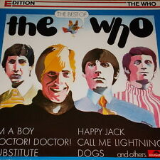 "12"" The Who The Best Of Edition (I`m A Boy, Substitute, Happy Jack) 70`s"