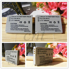 2x NB-5L Li-on Battery For Canon IXUS 90 960 970 IS PowerShot SX230 HS