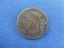1868 U.S. INDIAN HEAD CENT COPPER PENNY COIN