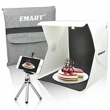 Emart 40 LED Foldable & Portable Photo Lighting Studio Shooting Tent Box Ki