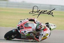 Danilo Petrucci Hand Signed Pramac Ducati 12x8 Photo 2015 MotoGP 9.