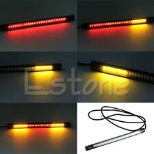 48 LED Flexible Motorcycle Light Strip Brake Tail Turn Signal Stop Integrated