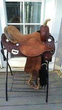 "15"" saddlesmith barrel racing saddle"