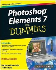 Photoshop Elements 7 for Dummies by Ted Padova and Barbara Obermeier (2008,...