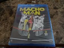 WWE The Randy Savage Story Macho Man Blu-ray New/Sealed Wresling WWF