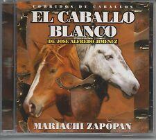 El Caballo Blanco  - Mariachi Zapopan Audio CD delta Latino Brand New