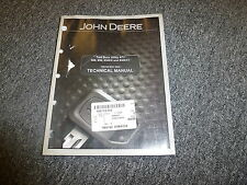 John Deere 500 650 Trail Buck Utility ATV Shop Service Repair Manual TM2160