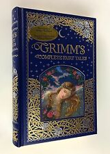 NEW ~ Brothers Jacob Grimm, Wilhelm Grimm 'GRIMM'S COMPLETE FAIRY TALES' Leather