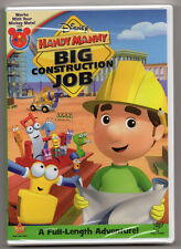 Handy Manny Big Construction Job Full Length Adventure New Sealed in Box DVD