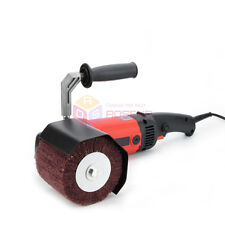 Metal Stainless Steel Flat Face Die Finishing Burnishing Polisher Sander Grinder
