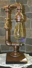 Retro Industrial Vintage Steampunk style Lamp with Water Spigot