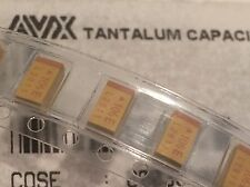 10UF 25V SURFACE MOUNT TANTALUM CAPACITORS CASE STYLE D  (X10)            bda18