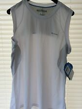 BNWT Columbia Sportswear Women's Quickest Wick Sleeveless Top Size L In White