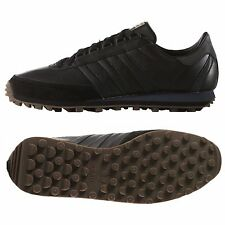 ADIDAS ORIGINALS NITE JOGGER MEN'S RUNNING SHOES SIZE US 11 BLACK LEATHER B24791