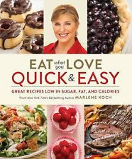 Eat What You Love: Quick & Easy cookbook - free shipping