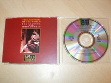 The Last Night Of The World - Lea Salonga & Simon Bowman (CD) 3 Tracks  Mint/New